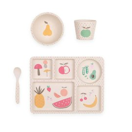 Fruit and Vegetables Dinner Set - 4 pieces