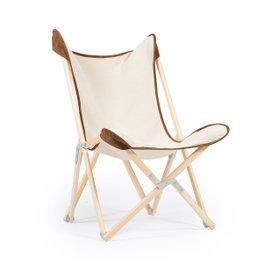 Tripolina Novecento Natural folding chair