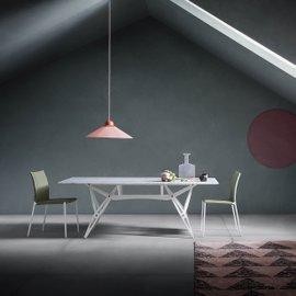 Table Reale avec plateau en marbre