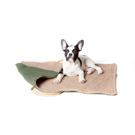 Jute M Travel Dog bed
