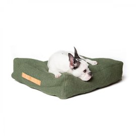 Jute M Dog cushion
