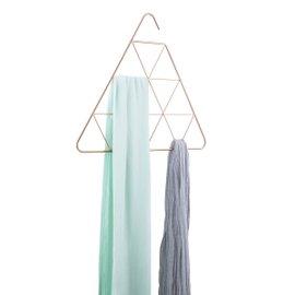 Porta sciarpe Pendant triangolare