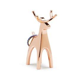 Reindeer ring holder copper