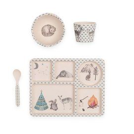 Forest Feast Dinner Set - 4 pieces
