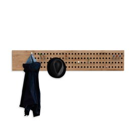 Scoreboard horizontal coat rack
