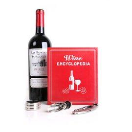 Kit da vino Wine Book - 3 pezzi