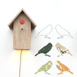 Applique Birdhouse