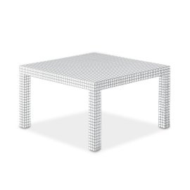 Quaderna square table