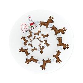 Christmas Spiral platter