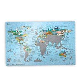 Mappa Bucketlist Scratch Edition