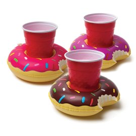 Donut cup holders - set of 3