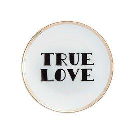 True Love dessert plate Diam. 17 cm - La Tavola Scomposta