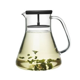 Dancing Leaf tea pitcher