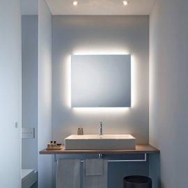 Specchio con iluminazione Ambient Light Led L 80 cm