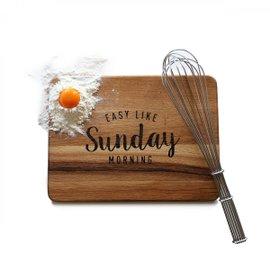 Sunday Morning cutting board