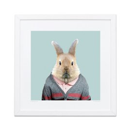 Bunny Zoo Portraits print
