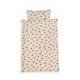 Rabbit baby bed set
