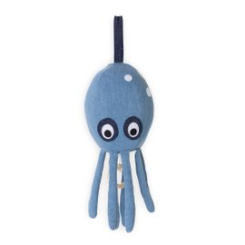 Octopus music toy