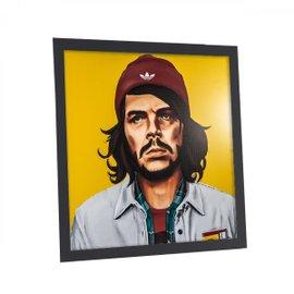 Che Guevara print with frame 80x80 cm