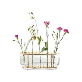 Ikebana oval vase
