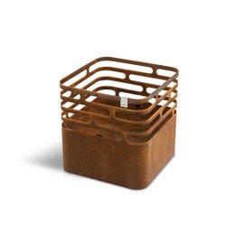 Corten-steel Cube Barbecue