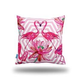 Fodera per cuscino Flamingo - fantasia 1