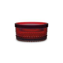 Vase petit Kastehelmi rouge