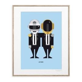 Daft Punk Print