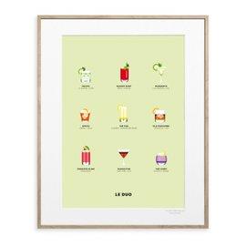 Affiche Cocktails