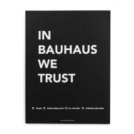 Affiche In Bauhaus we Trust