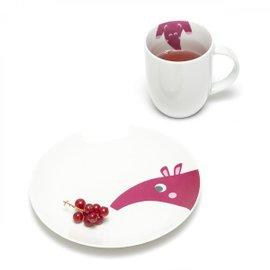 Mug avec soucoupe Ameisenbär
