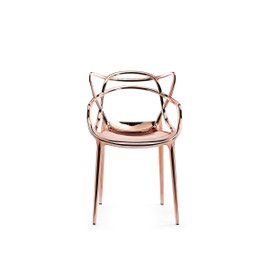 Chaise Masters métallisé