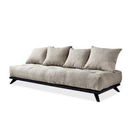 Senza sofa – black