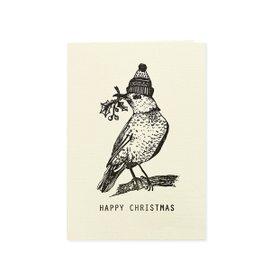 6 cartes de voeux Christmas Robin