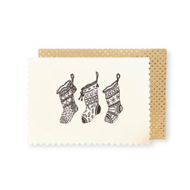 6 cards Luxe Stockings