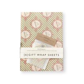 Twelve Days gift wrap set - 2 pack