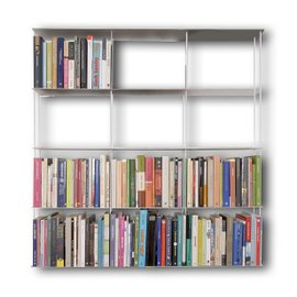 Krossing 100x100 wall bookcase