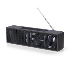 Radio-réveil Titanium Aluminium