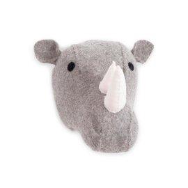 Wall trophy - Rhinoceros head