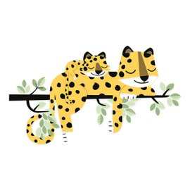 Wall sticker - Leopards