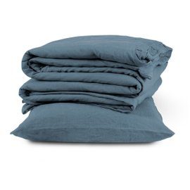 Parisian Blue super-king duvet cover set