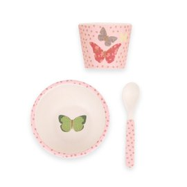 Butterflies Dinner set - 3 pieces