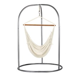 Modesta hammock chair with Romano stand