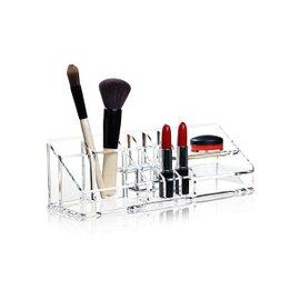 Clear make-up organiser