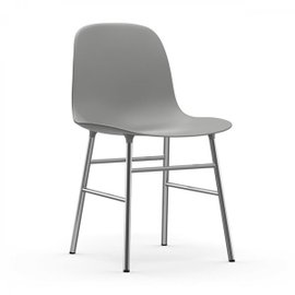 Chaise Form chromée