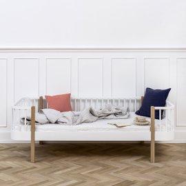 Divano-letto singolo Wood in rovere