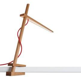 Lampada da tavolo Clamp Led con morsetto