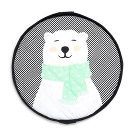 Sacca portagiochi - Tappetino Orso Polare