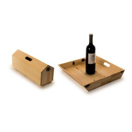 Tray Chique wine box and serving tray