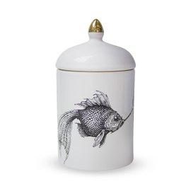 Smokey Fish cosy candle